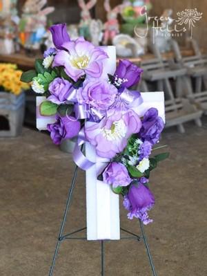 Easter Cross by Green Hills Florist