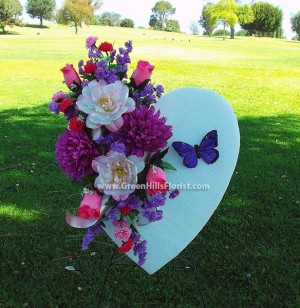 Mother's Day Heart by Green Hills Florist