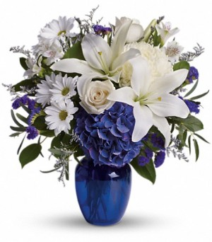 Sympathy flower gift to Green Hills Mortuary Memorial Chapel